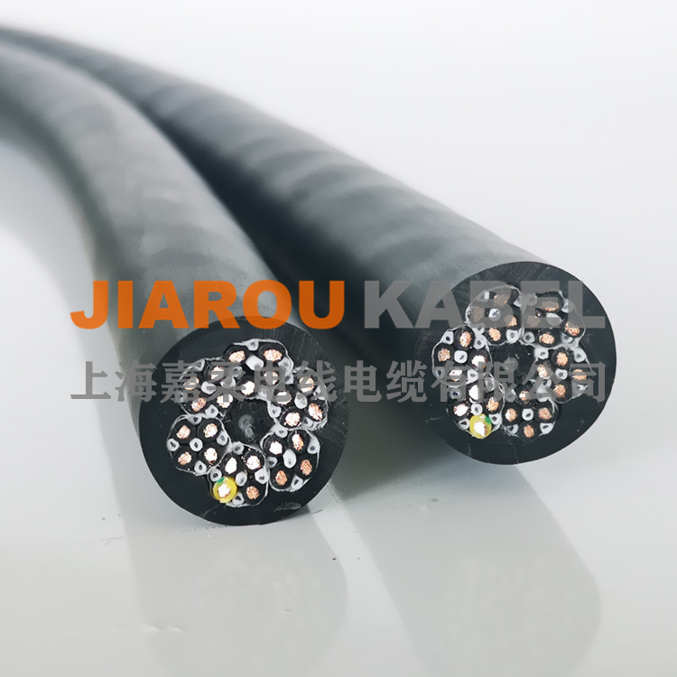 经济型多芯高柔性拖链电缆