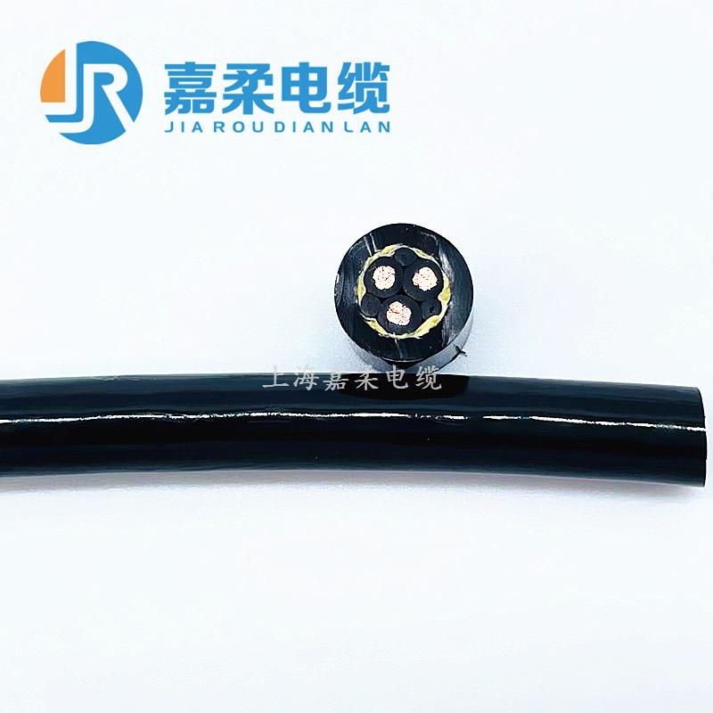 高柔性耐油型聚氨酯拖链电缆