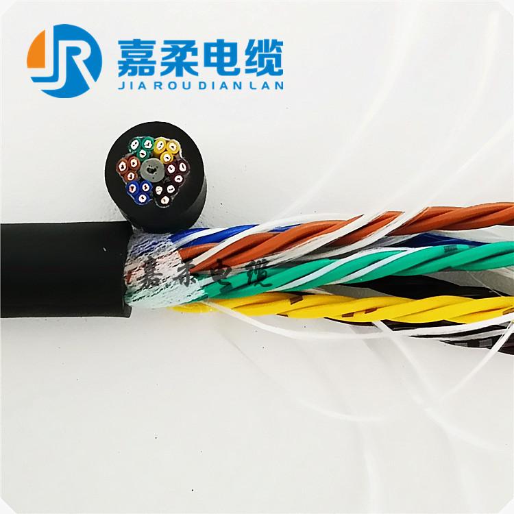 高柔性TRVV拖链数据信号电缆