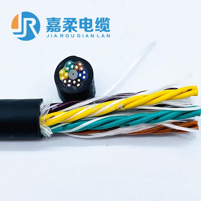 标准型多芯高柔性拖链信号数据电缆(经济型,更高性价比)
