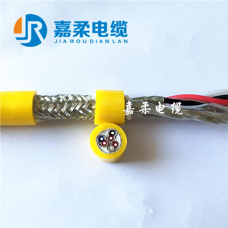 高柔性编码器电缆,聚氨酯护套